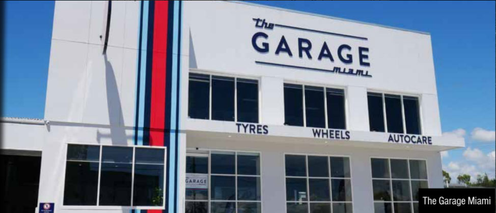 The Garage Miami Store