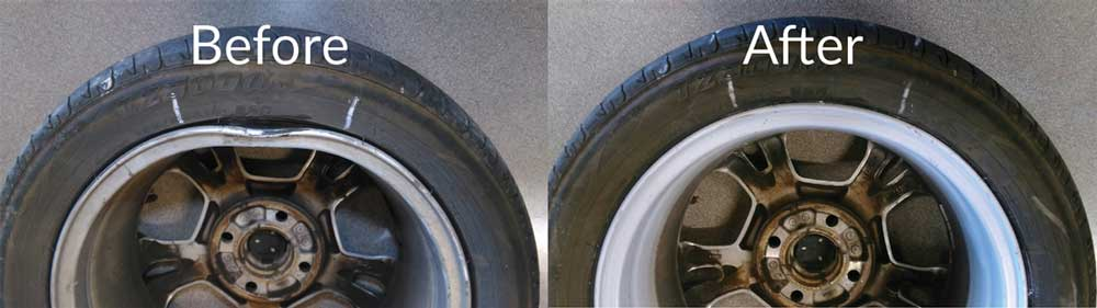 Alloy Wheel Repairs Before & After